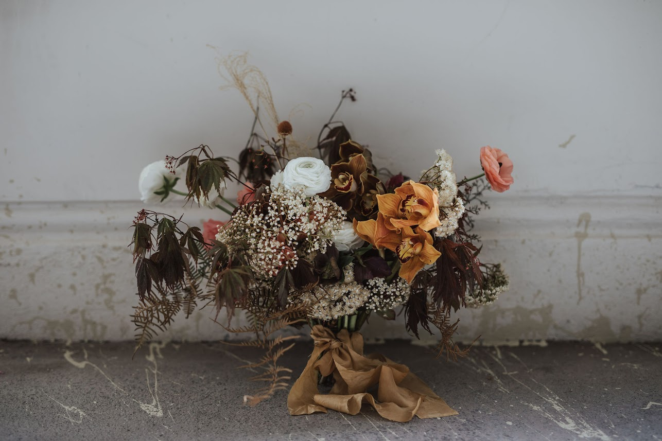 On My Hand styled shoot with Together Journal photography by Coralee Stone - flower arrangement