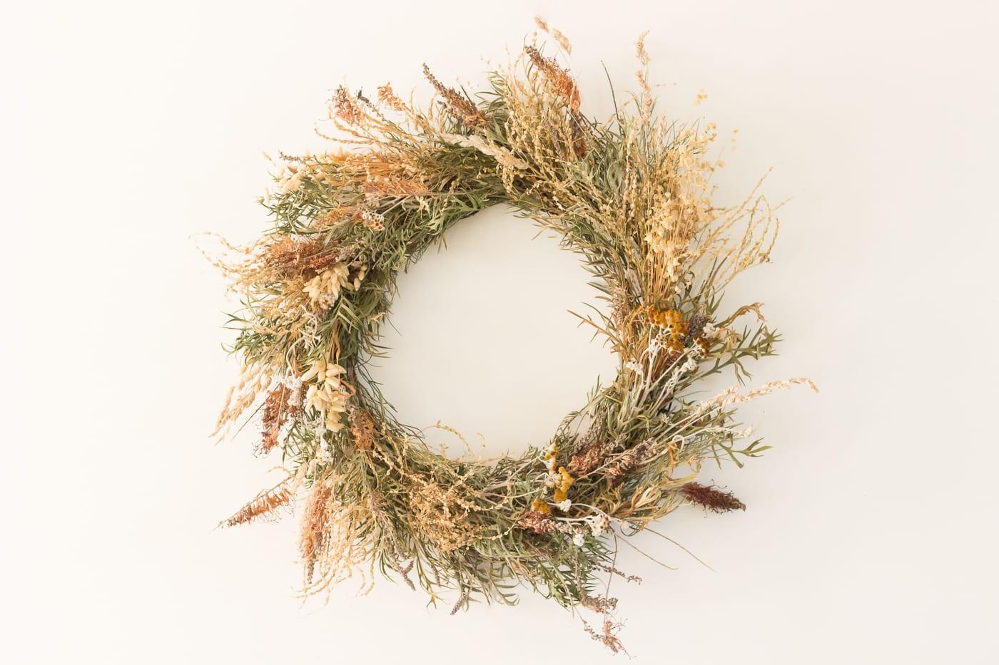Banksia wreath (1 of 1)